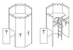 Plywood fort cutting plan