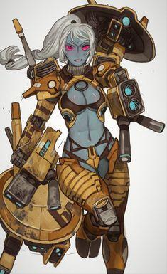 Warhammer 40k Memes, Warhammer 40k Art, Empire Tau, Comic Art Girls, Funny Tanks, Waifu Material, Character Design Inspiration, Pixel Art, Art Reference