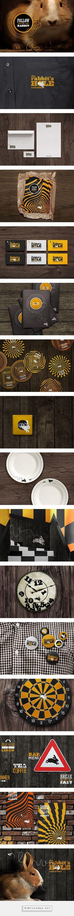 The rabbit's hole on Behance | Fivestar Branding – Design and Branding Agency & Inspiration Gallery