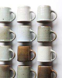 "Gadsby ceramics ""A dozen mugs thrown and handled mugs. Mugs without qu… Florian Gadsby ceramics ""A dozen mugs thrown and handled mugs. Mugs without qu.Florian Gadsby ceramics ""A dozen mugs thrown and handled mugs. Mugs without qu. Ceramics Pottery Mugs, Stoneware Mugs, Ceramic Plates, Ceramic Pottery, Ceramic Art, Porcelain Ceramic, Slab Pottery, Pottery Wheel, Pottery Vase"