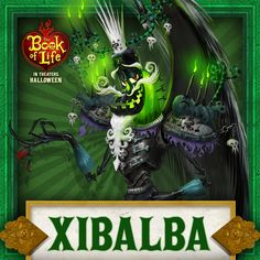 Meet Xibalba: The Trickster. He is made of everything icky in the world and a personality to match. #BookOfLife