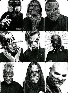 Slipknot members/Masks (lattest)