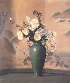 Antiques Art Nouveau Davis American Impressionist Landscape Painting Maxfield Parrish Era Aspiring Warren B