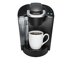 Keurig K-Select Coffee Maker, Single Serve K-Cup Pod Coffee Brewer, With Strength Control and Hot Water On Demand, Matte Black Pod Coffee Makers, Coffee Pods, Coffee Beans, Coffee Shop, Coffee Lovers, Thermal Coffee Maker, Automatic Espresso Machine, French Press Coffee Maker, Living Room