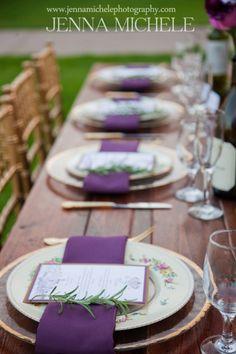 Bella Collina Radiant Orchid Wedding Inspiration |
