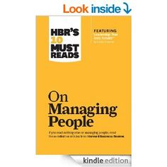 Managing People | Lifestyle | Office | HBR | Work Management