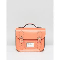 Leather Satchel Mini Festival Backpack (1.680 ARS) ❤ liked on Polyvore featuring bags, backpacks, pink, leather satchel handbags, pink satchel handbags, handbag satchel, satchel handbags and mini backpacks