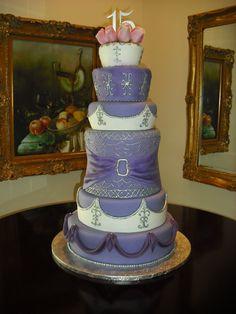 Quinceanera Cakes | Sprinklebelle: Martinez Quinceanera Cake