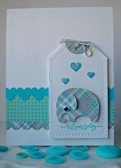 Baby Boy Card - Scrapbook.com