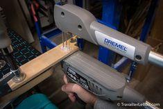 La scie à chantourner Dremel Moto-Saw | TravaillerLeBois.com Accessoires Dremel, Dremel Saw, Dremel Projects, Good To Great, Resin Art, Creativity, Dremel Ideas, Tools, Bricolage