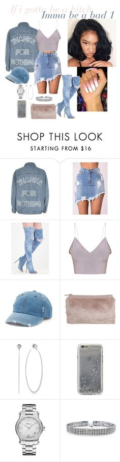"""I go, I go, I go CRAAAAZY"" by jmerritt12 ❤ liked on Polyvore featuring River Island, Poetic Justice, Mudd, Miss Selfridge, Michael Kors, Agent 18, Chopard and Bling Jewelry"