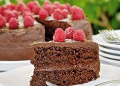 Chokoladelagkage med hindbær - lækker opskrift