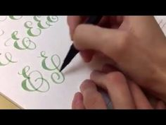 #letterattack Lettering Lessons - Brush Lettering Alphabet bB - YouTube