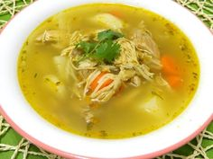 Sopa de Pollo Boricua (Puerto Rican Chicken Soup) - YouTube