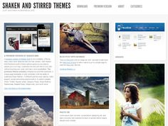 Four Free WordPress themes that are Pinterest-like.