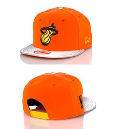 NEW ERA Miami Heat NBA snapback cap Adjustable strap on back for comfort  Embroidered team logo on front Jimmy Jazz Exclusive 349748c0c6f