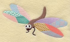 Machine Embroidery Designs at Embroidery Library! - Patchwork ...