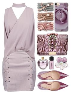 """""""Win $50 from Franco Florenzi."""" by riozannat ❤ liked on Polyvore featuring Monza, Casetify, WithChic, Boohoo, GEDEBE, Casadei, MAC Cosmetics, Chanel, Vera Wang and rose"""