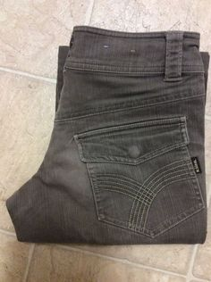 KUHL PREMIUM QUALITY OUTDOOR JEANS SZ P2 STRONG DEMIN GREEN in Clothing, Shoes & Accessories, Women's Clothing, Jeans | eBay