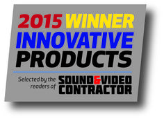 Draper Optically Seamless TecVision has received an Innovative Product Award from Sound & Video Contractor Magazine. http://www.draperinc.com/projectionscreens/tecvision.aspx