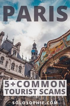 Common tourist scams in paris to avoid! How to Avoid Common Tourist Paris Scams & Pickpockets