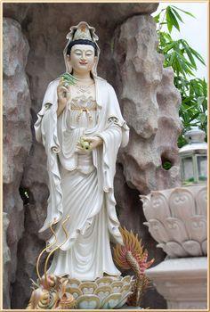A Di Da Phat Guanyin Buddha 443 by kwanyinbuddha on deviantART Ancient Goddesses, Gods And Goddesses, Guanyin, Buddhist Art, Deities, Statue, Deviantart, Altars, Spirituality