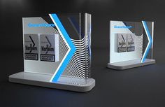 POSM Collection 2 by Dmitry Gelishvili, via Behance Design Display, Pos Display, Pop Design, Stand Design, Display Shelves, Display Stands, Display Ideas, Exhibition Stall, Exhibition Booth Design