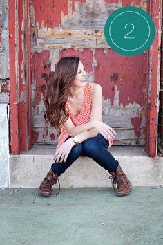 one pose many ways by Emily Potts