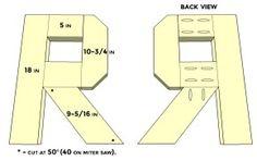Wood Letter Plans: N-Z • Better When Built