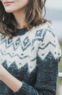 Idée pull femme jacquard tenue hiver                                                                                                                                                                                 Plus