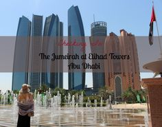 Checking in: The Jumeirah at Etihad Towers, Abu Dhabi.