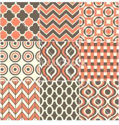Retro seamless pattern vector 1379517 - by paul_june on VectorStock®