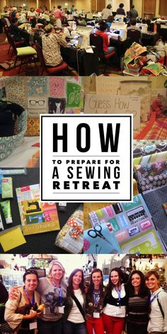 These retreats are super fun and exciting but if you've never been to one, it can be intimating. Learn how to prepare, then get ready to have a blast! The Sewing Loft