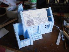 WIP mini house wargames