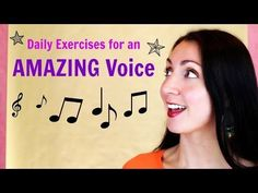Singing: daily exercises for an AWESOME voice: Alternative 1 - YouTube