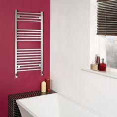 Hot pink bathroom!
