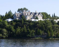 24 Sussex Drive - the front view of the Prime Minister of Canada's house
