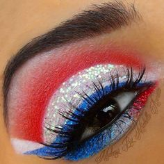 4th of July Makeup!!!