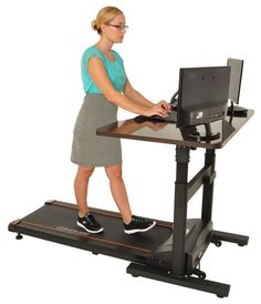 Genial Standing Desks Are So Yesterday; Try A Treadmill Desk For A Really  Energizing Experience | Treadmill Desk, Desks And Garage Office