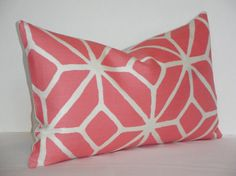 Trina Turk Trellis in Watermelon  12 x 20   by TeaOliveLiving, $39.95