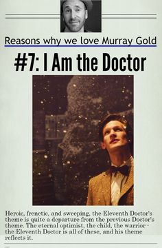 Reasons why we love Murray Gold 7 - I am the Doctor