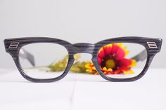 Vintage Eyeglass 1950s By Lumar Greywood New Old Stock Arnel style g-men #lumar #hipster #Everyday
