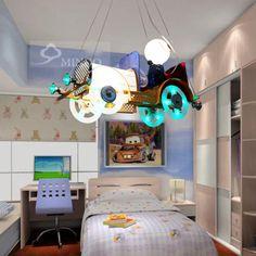 The Airplane Pendant Lamp for Children Bedroom Cartoon Pendant Light ...