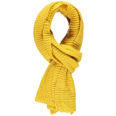 Forever 21 Ribbed Knit Oblong Scarf  Yellow (580 RUB) ❤ liked on Polyvore featuring accessories, scarves, yellow scarves, forever 21, oblong scarves, long shawl and long scarves