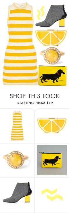 """A little bit of sunshine"" by sunnydays4everkh ❤ liked on Polyvore featuring Sonia Rykiel, Anne Sportun, Marc Tetro and Kim Kwang"
