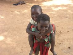 Cousins' daughters. #africa #children
