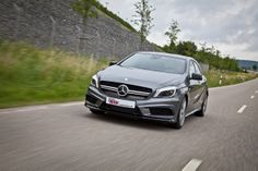 Track performance for Mercedes-Benz A45 AMG