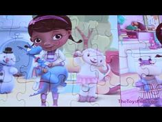 Disney - Doc McStuffins - Jigsaw 24 Piece Puzzle - YouTube