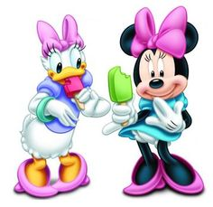 Daisy Duck  and Minnie mouse (36 pieces)