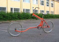 Well, this bike looks strange....